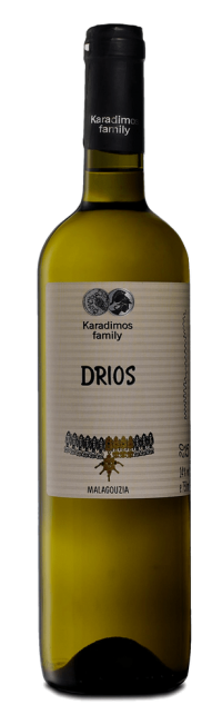 Drios Malagoussia  Dry, highly aromatic white Karadimos Family