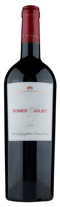ROMEO & JULIET  WINE CATEGORY: Red PGI Peloponnese Gofas Family