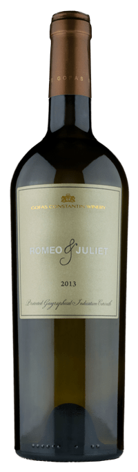 ROMEO & JULIET  WINE CATEGORY:White PGI Peloponnese Gofa Family