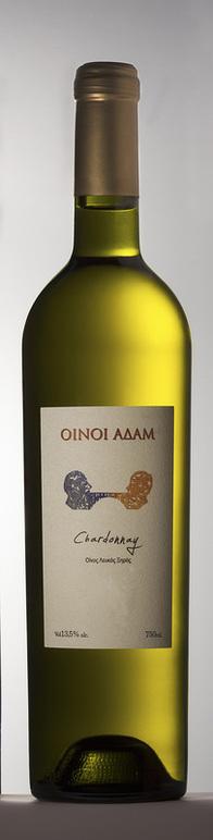 Chardonnay 100% Chardonnay Οίνοι Αδάμ