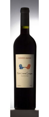 Merlot-Cabernet Sauvignon Οίνοι Αδάμ