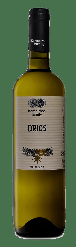 Δρυός Μαλαγουζιά Δρυός Μαλαγουζιά Ξηρό, έντονο αρωματικά κρασί κτήμα οικογένεια Καραδήμος