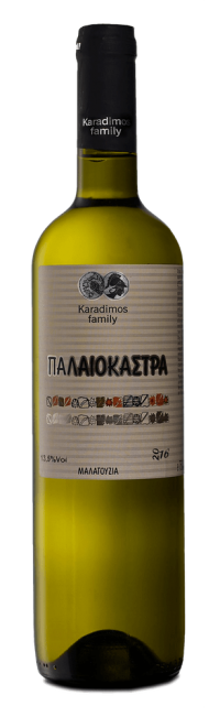 Paleokastra  Dry, highly aromatic white wine Karadimos Family